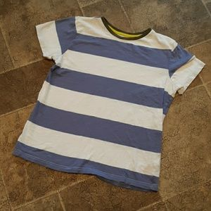 Boden boy's size 15-16 Y striped crewneck t shirt